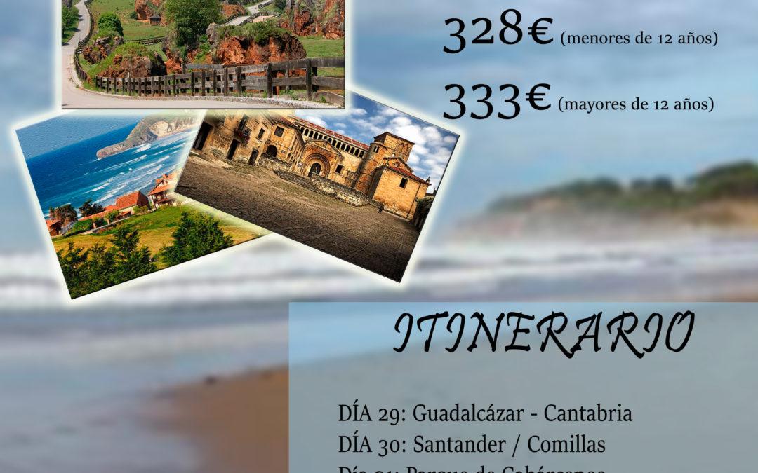 Viaje Cultural a Cantabria