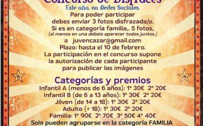 Guadalcázar celebra su Carnaval con concursos virtuales