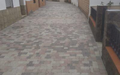 Finalizan las obras de la calle Manuel Guerrero de Guadalcázar
