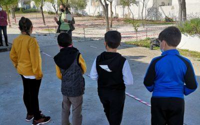 Jornada medioambiental con los alumnos del colegio Marqués de Guadalcázar