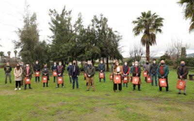 Guadalcázar recoge las semillas de variedades hortícolas autóctonas que la Diputación de Córdoba ha entregado entrega a 40 municipios