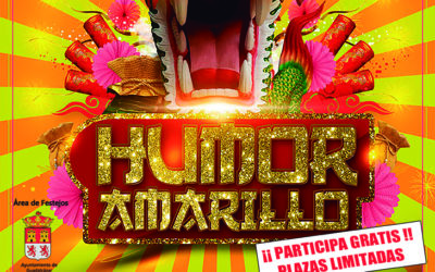 Llega HUMOR AMARILLO  a Guadalcázar